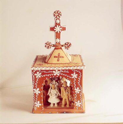 Casamento na capela. parte do acervo do Museu Casa do Pontal
