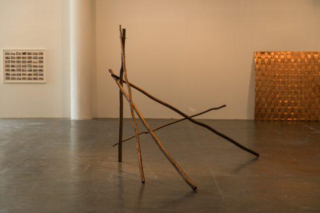 Obra da peruana Ximena Garrido-Lecca na Bienal. Foto: © Levi Fanan