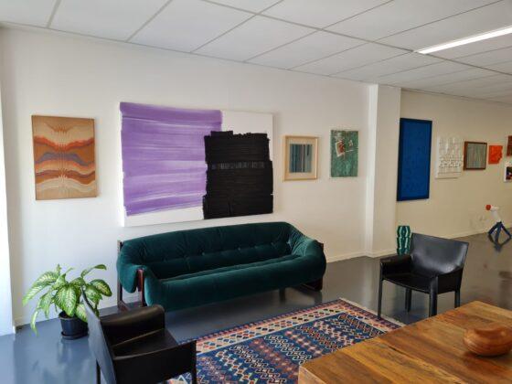 Visão geral do escritório da steinART. Foto: cortesia do escritório.